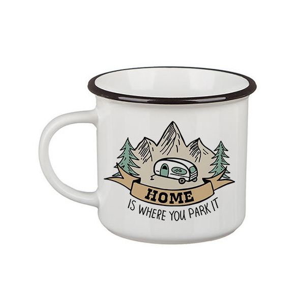Кружка Сamper «Home is where you park it»