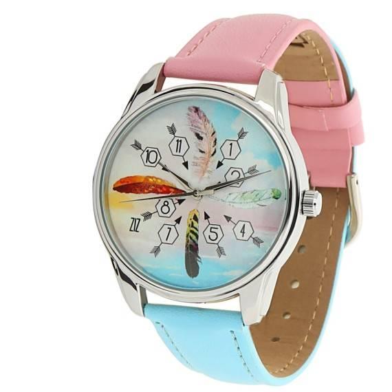 Часы наручные «Перья»
