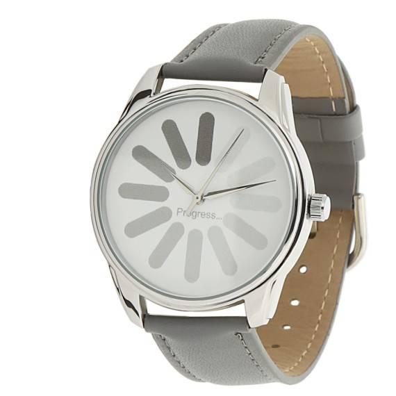 Часы наручные «Загрузка»
